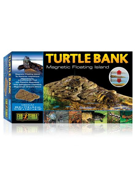 Декорация для террариума Exo Terra «Turtle Bank» Плавающий остров M 30 x 18 x 5 см (пластик)