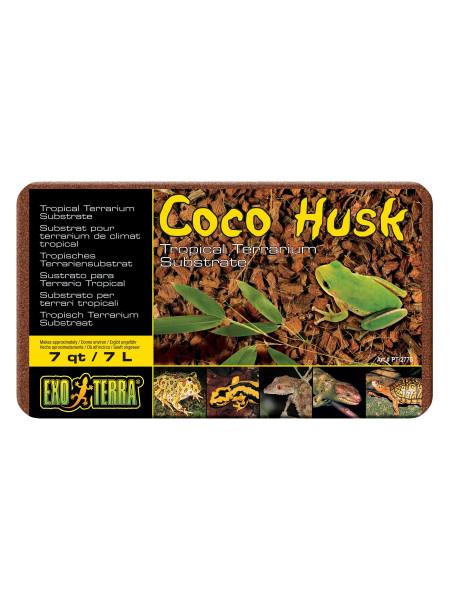 Наполнитель для террариума Exo Terra «Coco Husk» 7 л (кокосовая стружка)