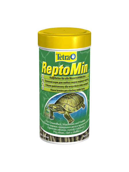 Сухой корм для водоплавающих черепах Tetra в палочках «ReptoMin» 250 мл