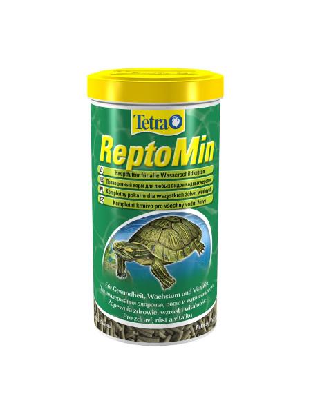 Сухой корм для водоплавающих черепах Tetra в палочках «ReptoMin» 1 л