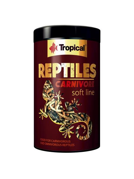 Многокомпонентный корм для плотоядных рептилий Tropical «Reptiles Carnivore» 1 л