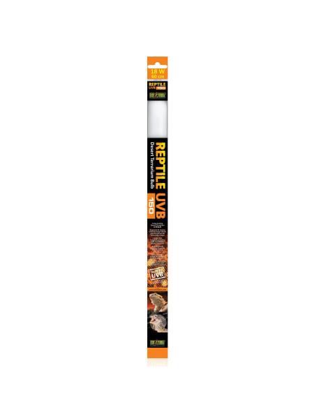 Люминесцентная лампа Exo Terra «Reptile UVB 150» для облучения лучами УФ-В спектра 18 W, 60 см, T8 (для облучения)