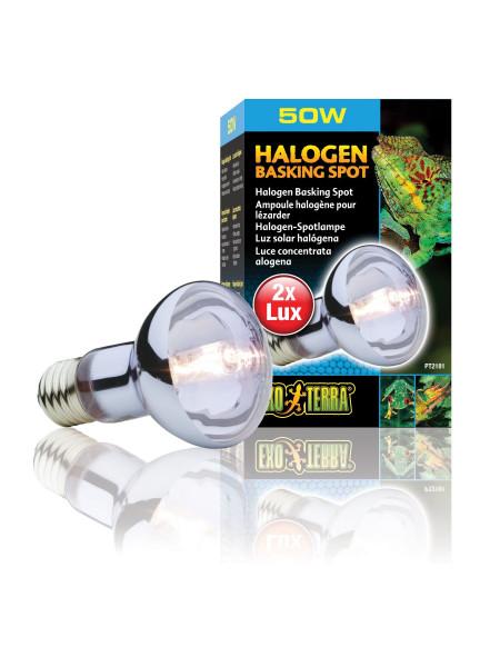 Галлогеновая лампа Exo Terra «Halogen Basking Spot» 50 W, E27 (для обогрева)