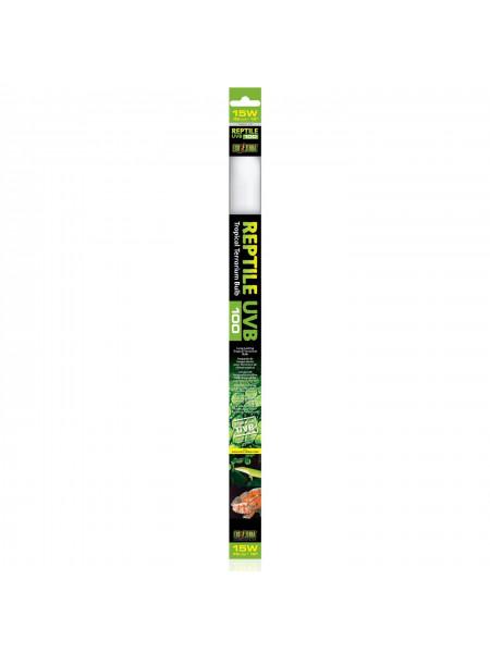 Люминесцентная лампа Exo Terra «Reptile UVB 100» для облучения лучами УФ-В спектра 15 W, 45 см, T8 (для облучения)