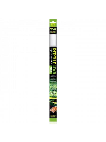 Люминесцентная лампа Exo Terra «Reptile UVB 100» для облучения лучами УФ-В спектра 30 W, 90 см, T8 (для облучения)
