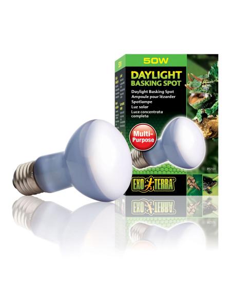 Лампа накаливания с неодимовой колбой Exo Terra «Daylight Basking Spot» 50 W, E27 (для обогрева)