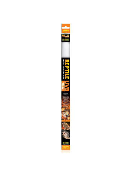 Люминесцентная лампа Exo Terra «Reptile UVB 150» для облучения лучами УФ-В спектра 15 W, 45 см, T8 (для облучения)