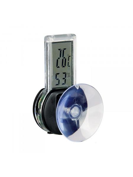 Термометр-Гигрометр для террариума Trixie электронный, с присоской 3 x 6 см